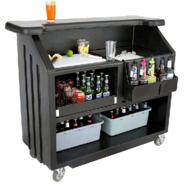 Where to find Bar cambro 4 1 2  black w sink in Philadelphia