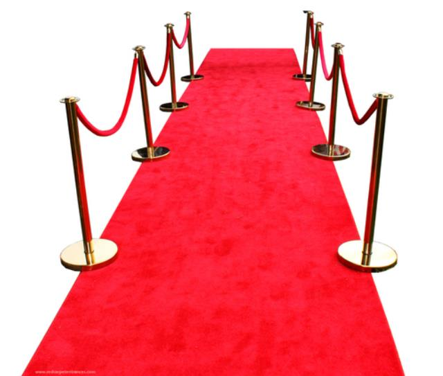 Carpet Aisle Runner Red 4 Foot X15 Foot Rentals