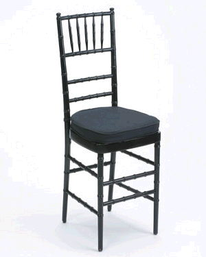 Where to find Chair Chiavari Black w cushion in Philadelphia