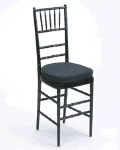 Rental store for Chair Chiavari Black w cushion in Philadelphia PA