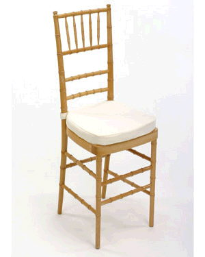 Where to find Chair Chiavari Natural w cush in Philadelphia