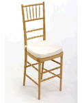 Rental store for Chair Chiavari Natural w cush in Philadelphia PA