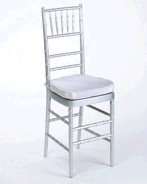 Where to find Chair Chiavari Silver w cush in Philadelphia