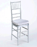 Rental store for Chair Chiavari Silver w cush in Philadelphia PA