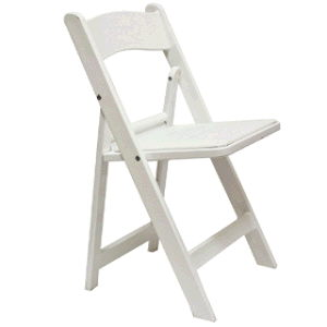 Where to find Chair Garden Wood White w pad in Philadelphia