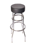 Rental store for Chair stool chrome black no ba in Philadelphia PA