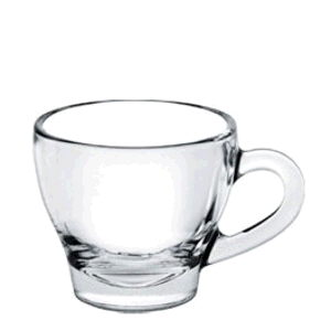 Where to find Glass clear cappachino cup in Philadelphia