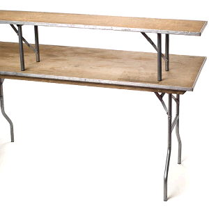 Where to find Bar table riser 6 x14  wood in Philadelphia