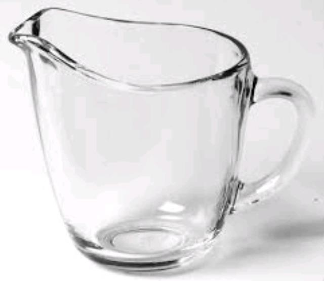 Where to find Clear glass creamer - 4 in Philadelphia