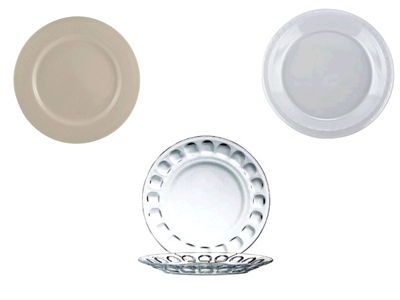 Rent China Plates & Serving