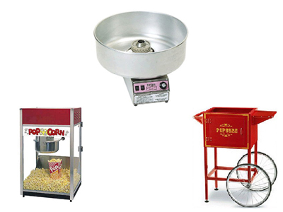 Rent Concession & Carnival Equipment